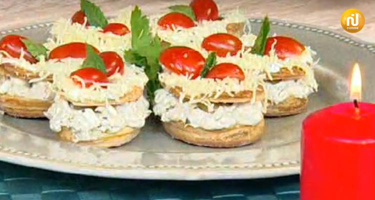 فلفون على شكل ورقة بالدجاج والجبن ، طاجين لفت ، تيراميسو  - كوزينتنا هكا الجزائر