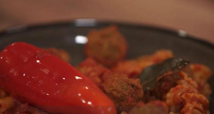 مقرونة بالبنادق ، ثلاثة أنواع لموس شوكولاتة - كوجينة رمضان مع ملاك