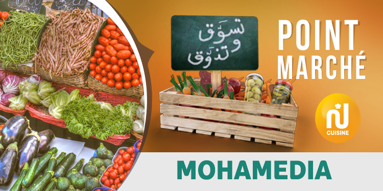 Point marché : Mohamedia