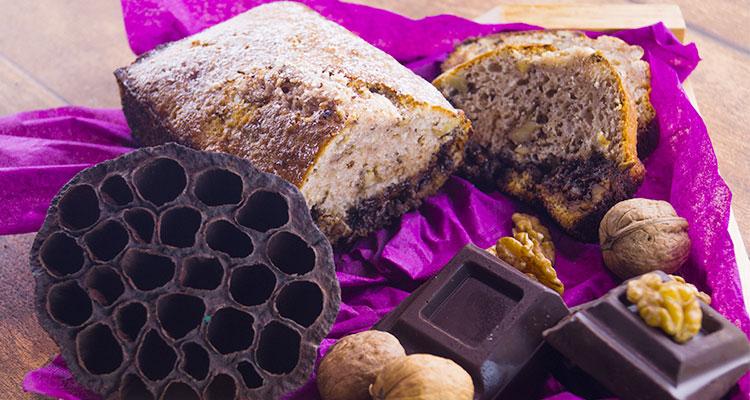 مرطبات بالشوكولاتة والجوز - بنينة
