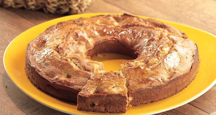كعكة بالتفاح - بنينة
