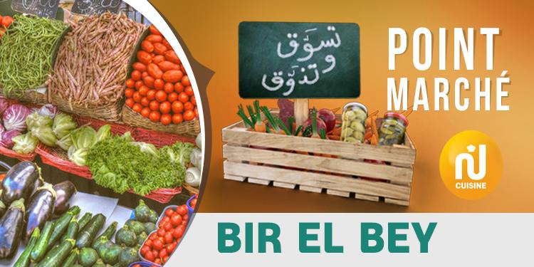 Point marché : Bir El Bey