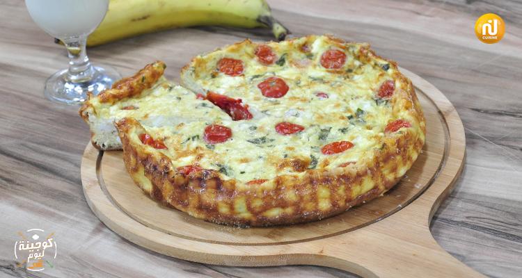 كلافوتي بالجبن، الطماطم الكرزية و الجمبون  - كوجينة اليوم 2 - الحلقة 20
