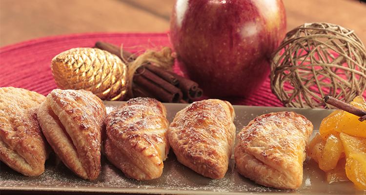 Chaussons aux pommes - Bnina