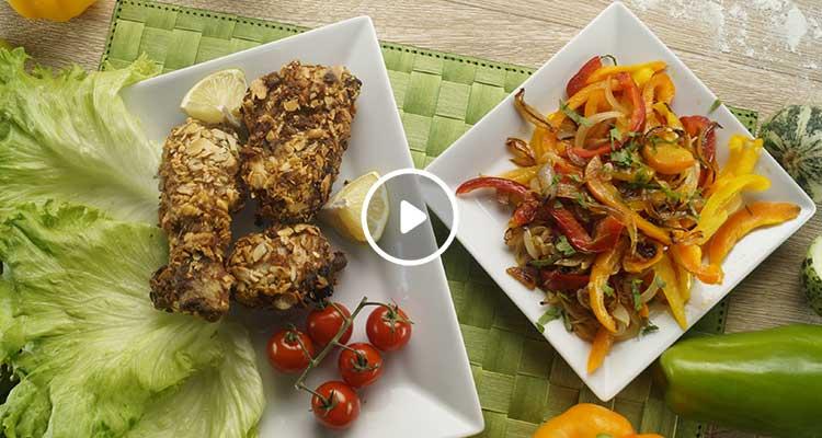 دجاج مقرمش - بنينة