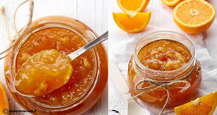 مربى البرتقال سهل التحضير