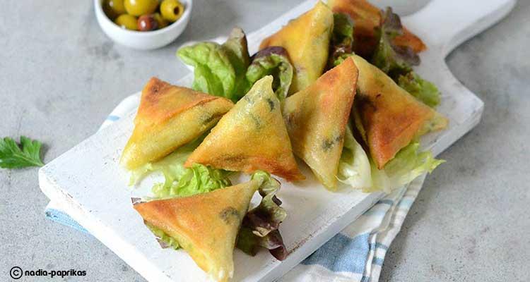 بريوات بالدجاج المغربيّة