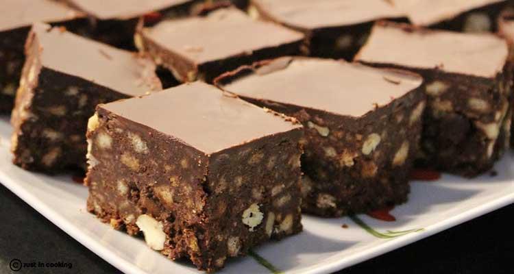 Gateau Aux Biscuits Chocolat Sans Cuisson Nessma Cuisine