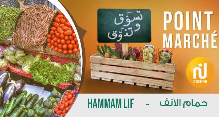 Point marché : Hammam Lif