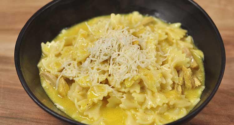 مقرونة بالدجاج والجبن - كوجينة اليوم 02 - الحلقة 116