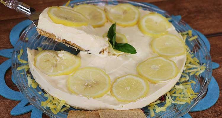 شيز كيك الليمون - بنينة