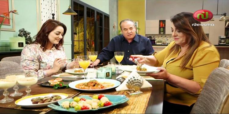 riz au calamar farci ، brik danouni ، soupe au بلة ، mesfouf bel كريمة ، Kaa ELkhabya_ Episode 20