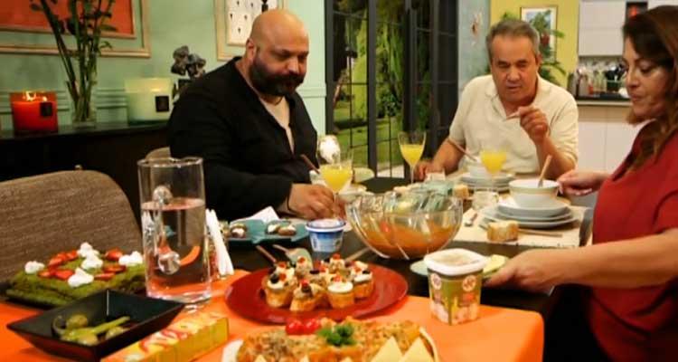 Couscous Azaar,soupe boulettes de viande,crème pâtissière,Brick-Kaa El Khabia-Episode02