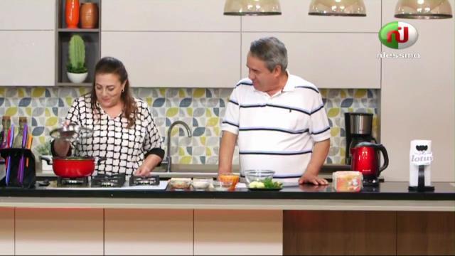 soupe , salade , gateau kaa El Khabia Ep 08