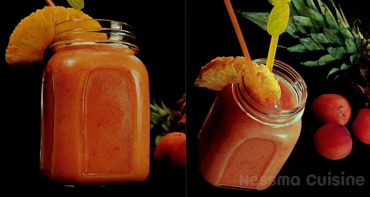 Granites fraise-kiwi / Granites abricot-ananas / Granites  pastèque-citron / Granites melon–pêche – Bnina