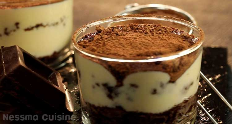 Tiramisu aux brownies