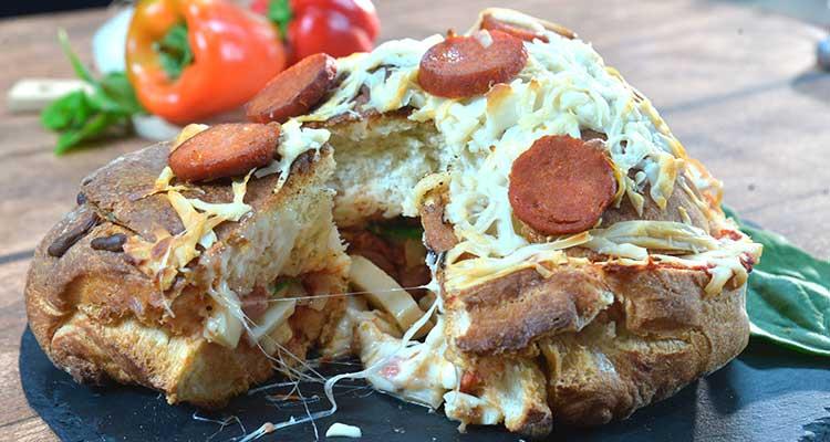وصفات خبز محشي بالفرن سريعة ولذيذة