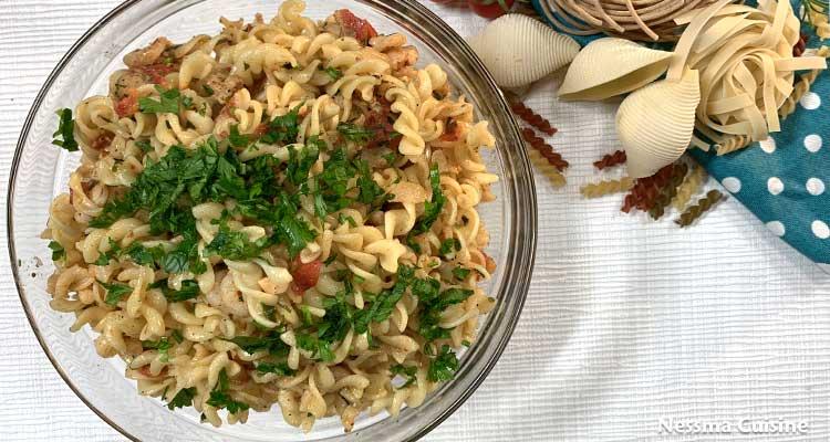 2 idées de recettes délicieuses pour faire des pâtes au moins de 30 minutes