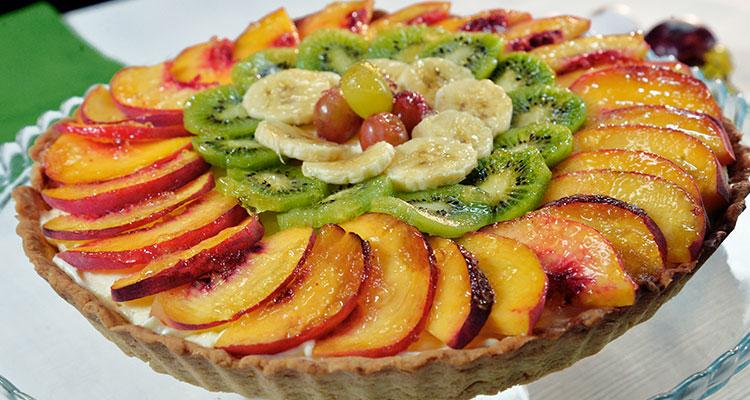 Tarte aux fruits et sa crème mousseline