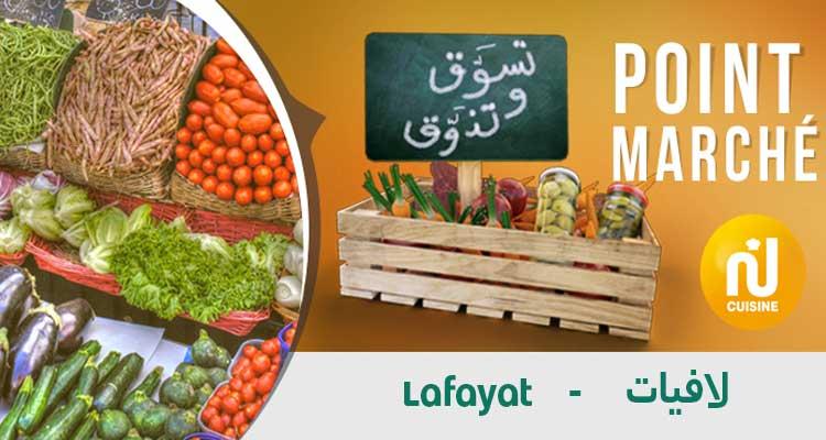 Point marché : Marché Lafayat Du Mercredi 11 Décembre 2019