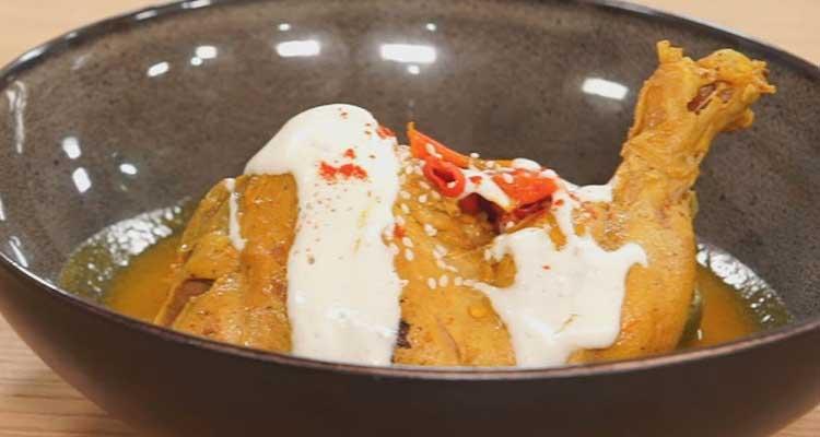 دجاج محمر بالجبن، سردينة السفساري، تشيز كايك بالبندق والشوكولاتة - كوجينة ليوم مع ملاك 14
