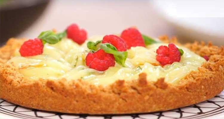 Souris d'agneau et riz safrané, Salade taboulé, Tarte citron et framboise - koujinet lyoum malek 3 ep 17