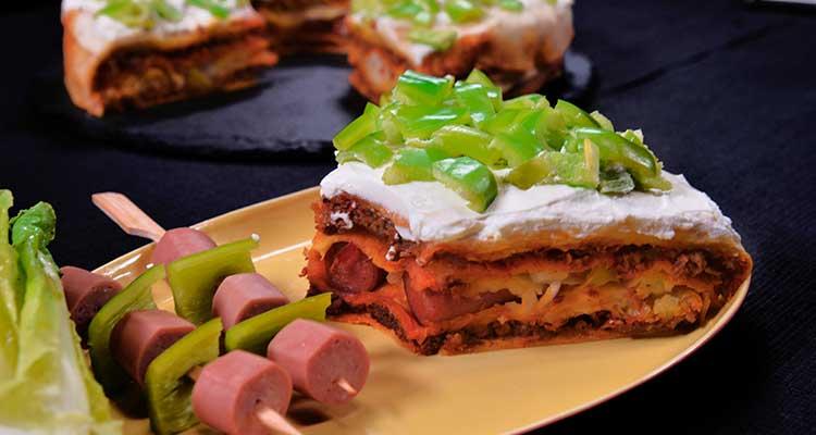 Fajitas viande Hachée et Chorizo