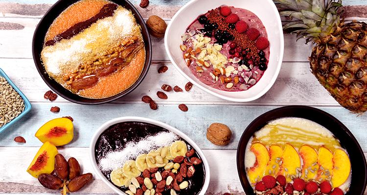 5 recettes de smoothie bowl vitaminés et colorés