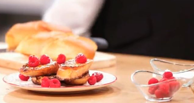 خبز محشي ، خبز محمص  - كوجينة اليوم  - الحلقة 04