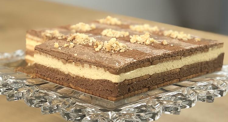 Gâteau courant d'air à la crème diplomate - Koujinet Elyoum Ep 30