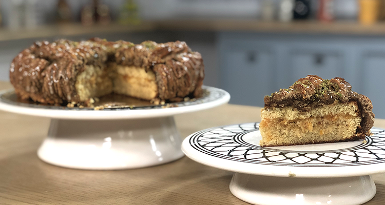 Gâteau délice tunisien - Koujinet Elyoum Ep 26