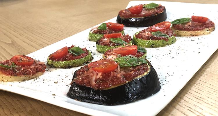 Mini-Pizzas aux légumes, pâtes complètes - Koujinet Elyoum Ep 29