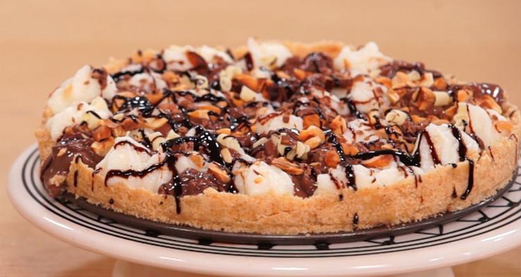 Tarte vanille chocolat - koujinet Elyoum Ep 21