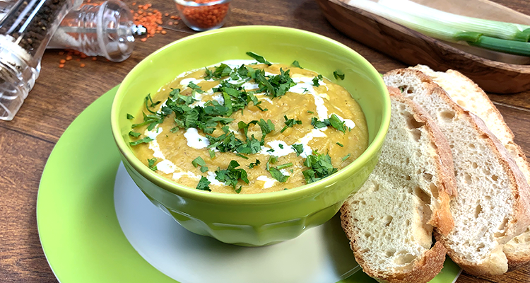 Soupe De Lentilles Corail Turque