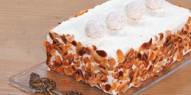 Gâteau sans cuisson à la noix de coco - Koujinet Elyoum Ep 54