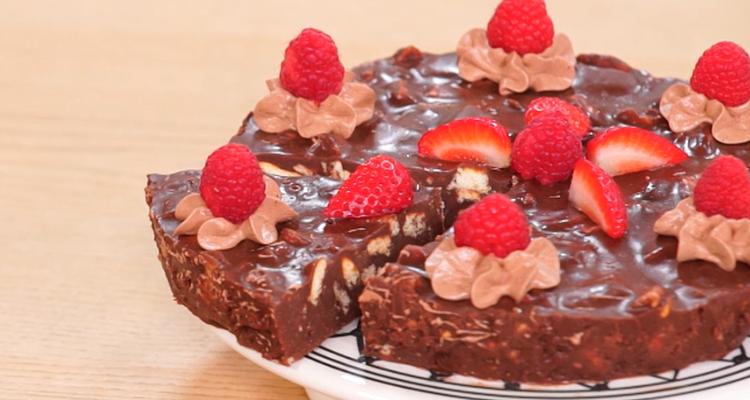 Gâteau au chocolat sans cuisson - Koujinet Elyoum EP 65