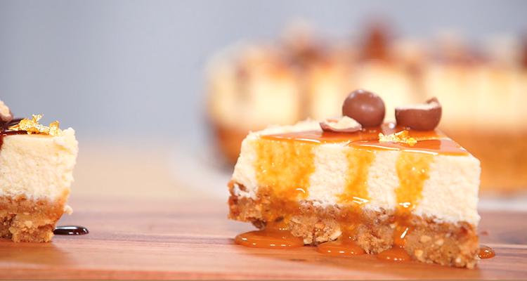 cheesecake caramel beurre salé - koujinet ELyoum Ep 62