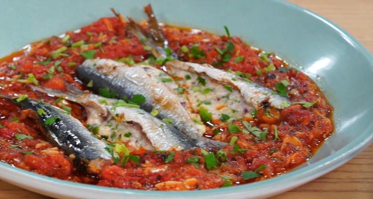Sardines farcies au four - Koujinet Elyoum Ep 57