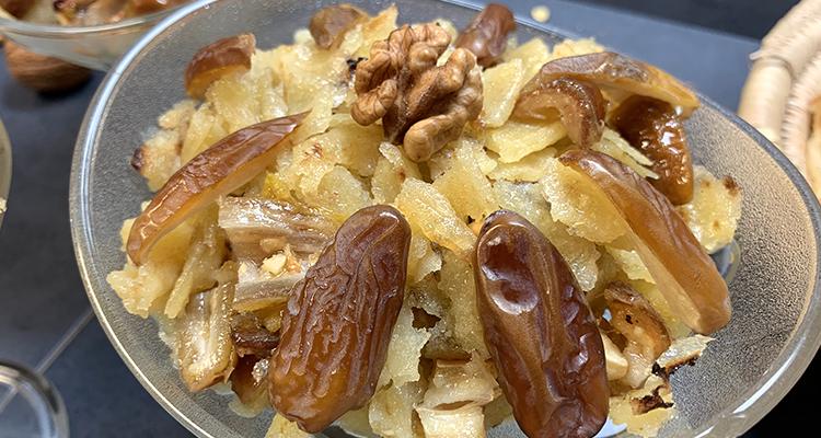 رفيسة تونسية : تحلية بخبز الملاوي