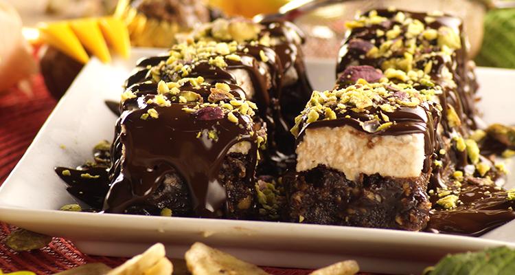 تحلية بالشوكولاتة سريعة التحضير