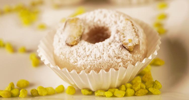 كعك العنبر : حلويات تونسية باللوز
