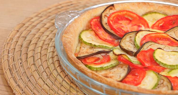 Tarte aux légumes d'été - koujinet Elyoum Ep 86