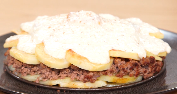 ميل فوي بطاطا باللحم المفروم - كوجينة اليوم - الحلقة 93