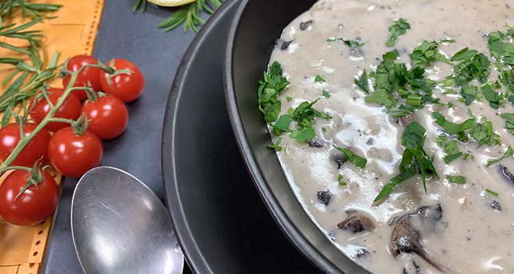 Soupe hongroise aux champignons