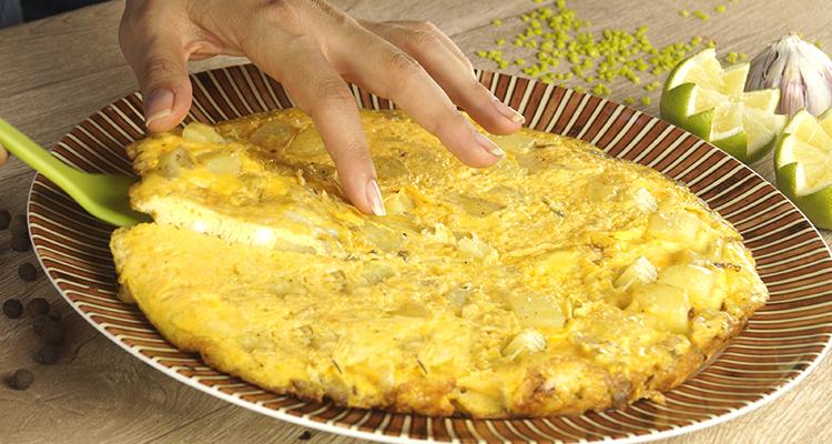 وصفة تورتيلا بطاطا
