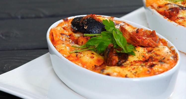Lasagnes aux fruits de mer - Har w hlow Ep 19
