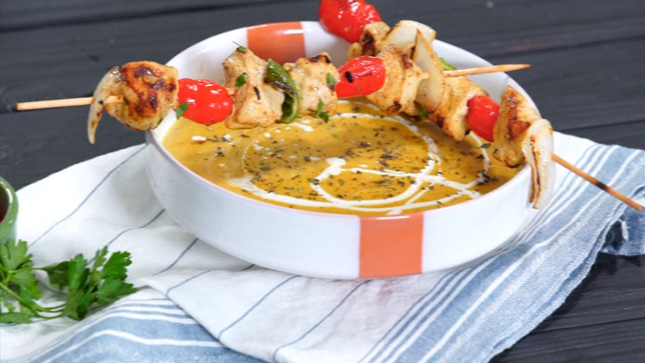 Soupe aux lentilles, brochettes de poulet - Har w hlow Ep 5