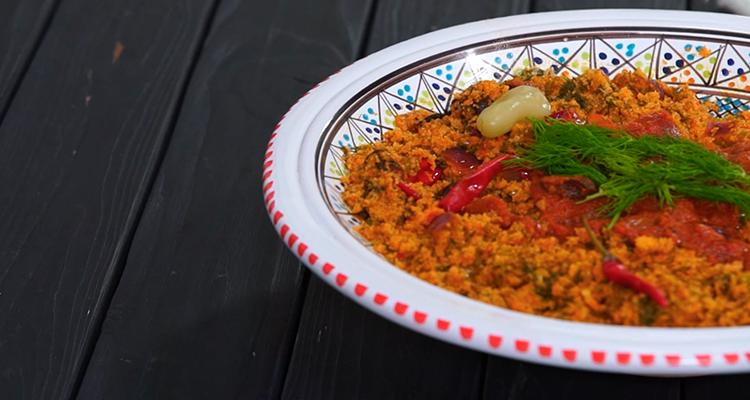 Couscous tunisien au fenouil (Farfoucha) - Har w Hlow Ep 13