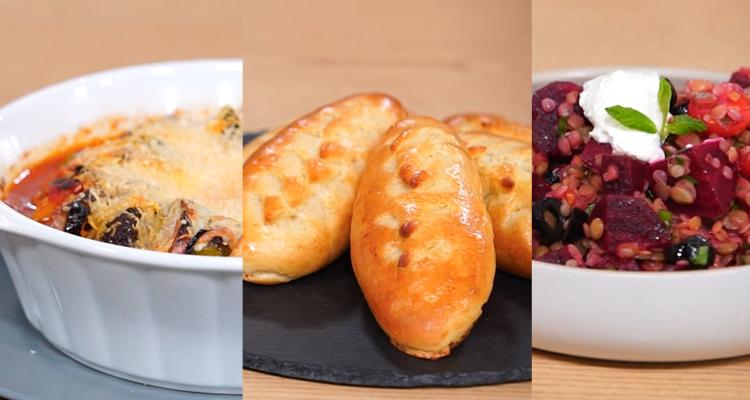 Salade de lentilles, Kefta bil sineya, Pain viennois - Koujinet Elyoum m3a malek 04 - Ep 10