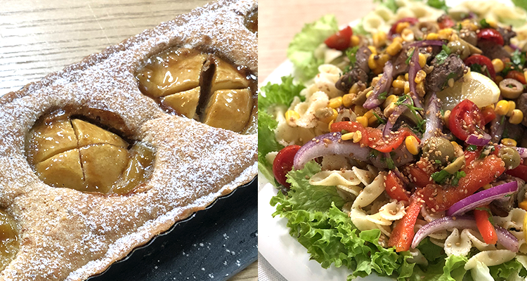 Salade de pâtes, Omlette, Tarte Saint-Louis - Koujinet Elyoum m3a malek 4 - Ep 08